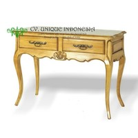 Console Table 2 Drawers French Country