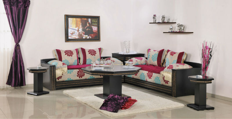 Babil Moroccan Living Room