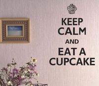wall sticker wall decals cupcake DF5205