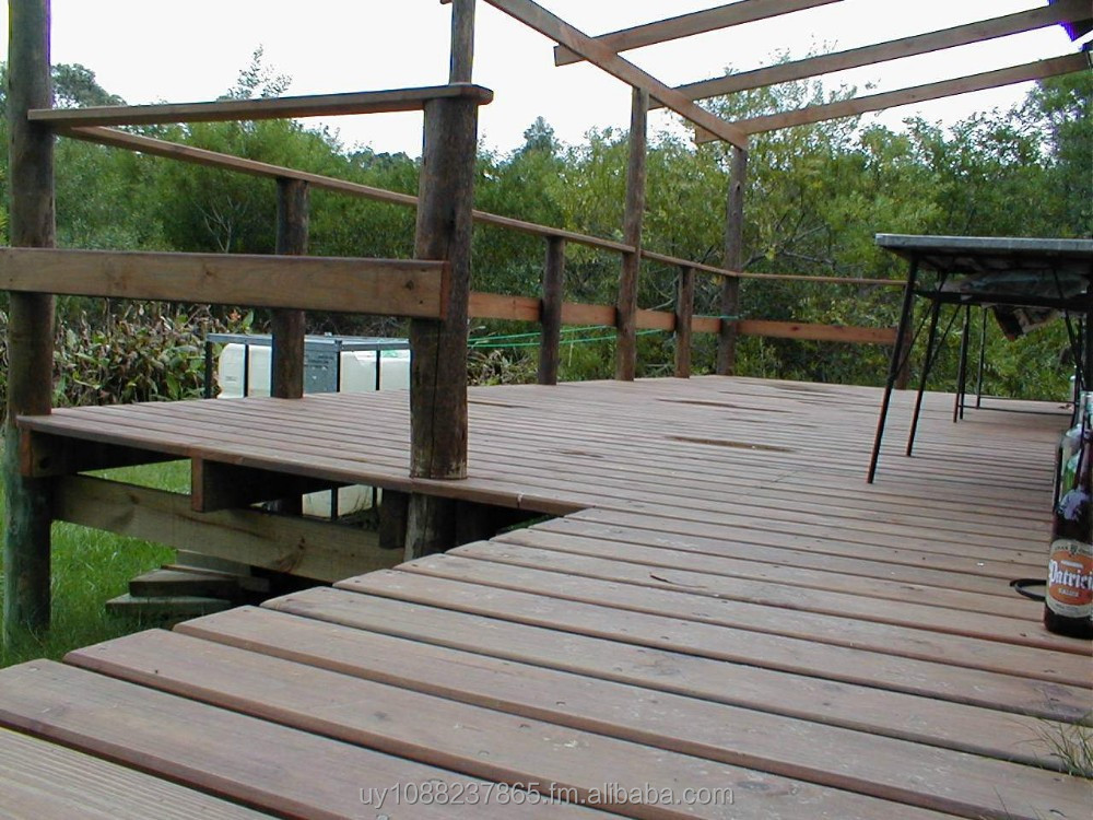 Sawn timber for decking, landscaping, playgrounds, walkways and bridges