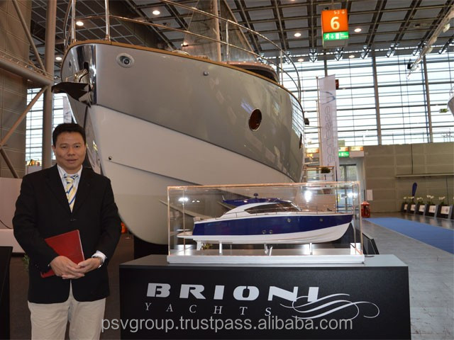 Model Cruise Ships Wooden Craft Brioni 44 Model in Viet Nam