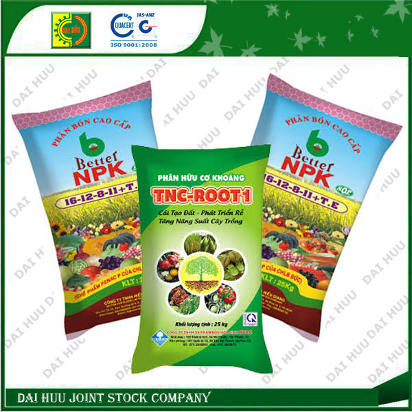Hot selling Fertilizer with high quality printing PP woven packing bag