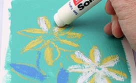 Easy to use and Functinal buy pens solid marker for paint , Thickness there are three types