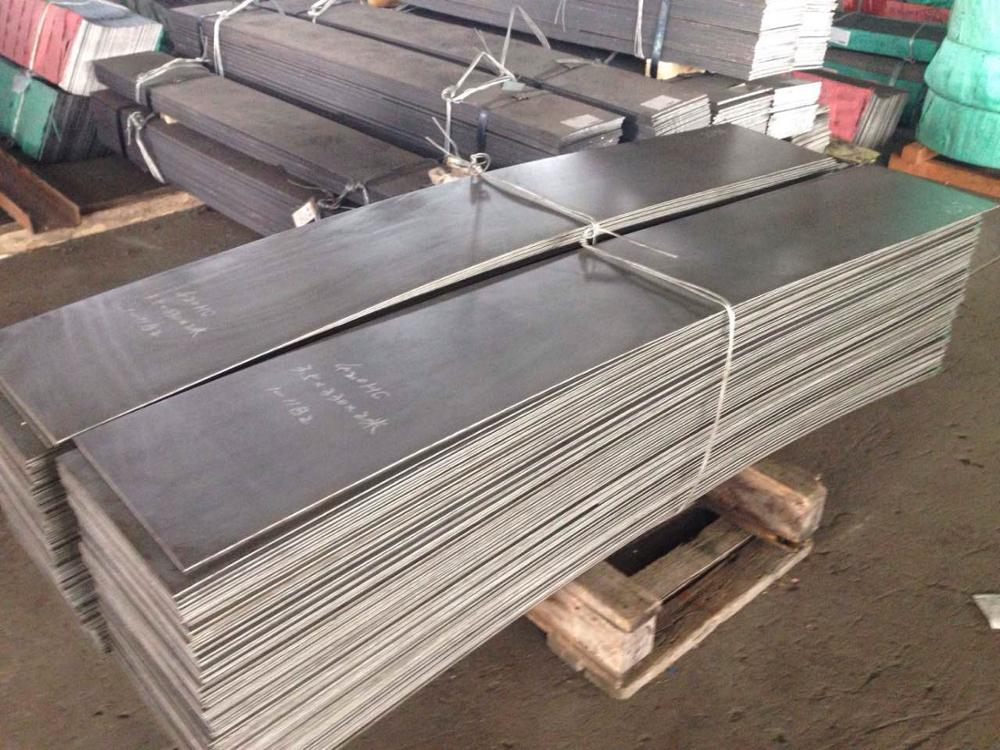 EN 1.4034 ( DIN X46Cr13 ), martensitic, 13% chromium high carbon stainless steel sheet
