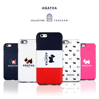 11080 For iPhone 6 6S 6Plus 6sPlus Popular Design Agatha Silicon Bumper Soft Smart Cellular Mobile Phone Case Cover Casing