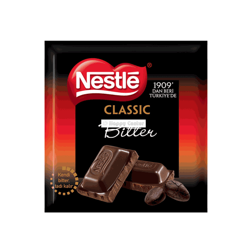 Nestle bitter chocalate 80 gr