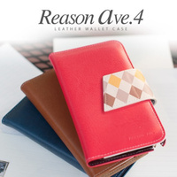 Loverly Pastel Color wallet case for cell phone / Red, Brown, Navy, Pink, Mint, Gold, Silver 7 Colors /