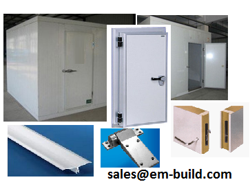 PUR/ PUF / PIR insulated sandwich panels, doors, PVC coving and all other materials for cold room construction + 971 55 4863025