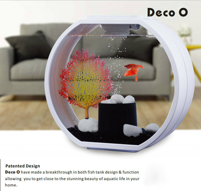 Deco O Desktop Aquarium