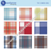 Polyester Cotton Yarn Dyed Check Woven