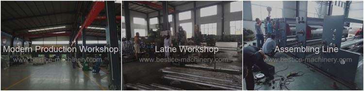 Big diameter 500mm Foam Tape Slitting Machine