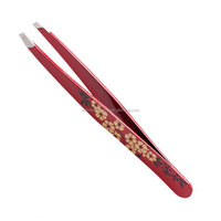 Tweezerman Slant Tweezer Red