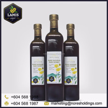 LAMIS Pure Natural Raw Honey in bottle from Malaysia