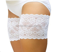 Elastic Anti-Chafing Lacy Thigh Bands *Prevent Thigh Chafing*
