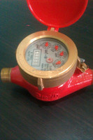 Water Meter for Hot up to 90degree Brass body E-Jet Philippines (Whole Saler -Retailer)