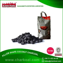 Original and Branded Pillow Shaped Charcoal for Barbecue Available