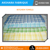 Made of Woven Cotton Kitchen Towel for Home Use at Reliable Price
