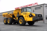 HM-350 6x6 ARTICULATED DUMP TRUCK