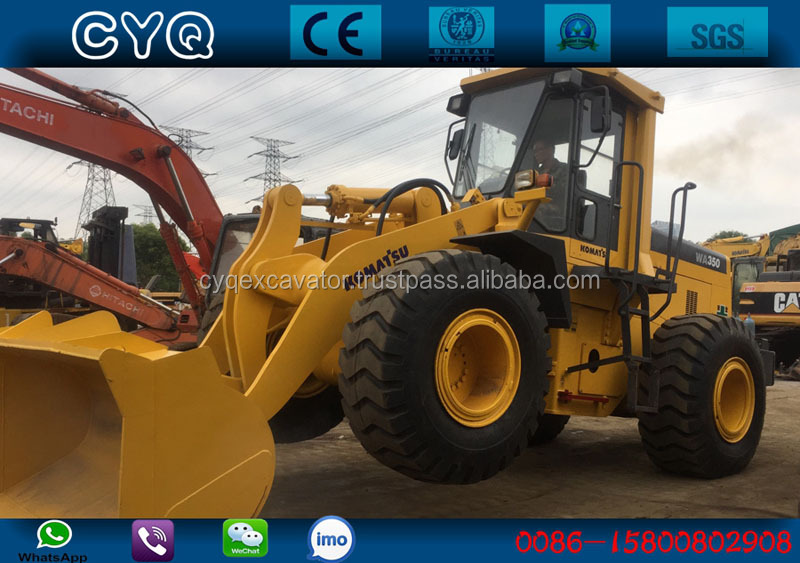 Used Komatsu WA350 wheel loader, Japan original Komatsu wa320, wa350, wa380, wa420, wa70 for sale (whatsapp: 0086-15800802908)