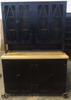 vintage industrial huch cabinet