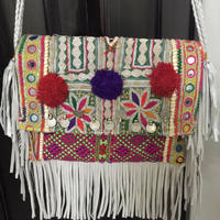 HANDMADE LEATHER STYLING CHINA VINTAGE INDIAN TRADITIONAL BAG