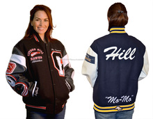 College Varsity Jackets / Girls Custom Varsity Jackets / NWSJ-514/AT NOKI