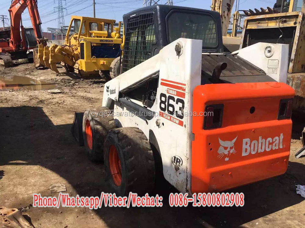 USA made used skid steer loader Bobcat 863 for sale