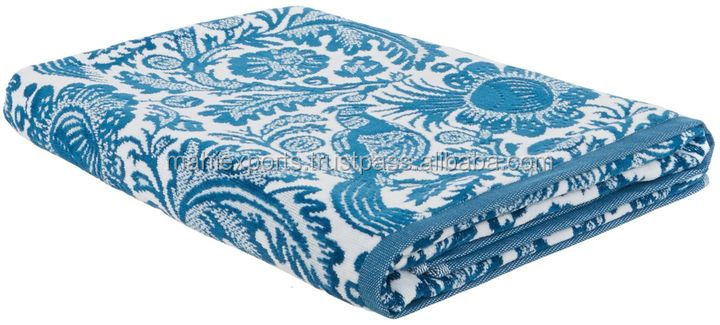 100% SOFT COTTON JACQUARD BATH SHEET