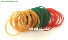 2017 hot sale natural rectangular rubber bands mixed colors and sizes - waterproof elastic magnetic soft stretch rubber band