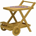Indonesia Furniture-TEMLO TEA TROLLEY