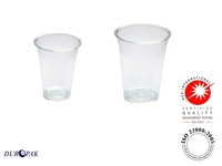 Disposable Plastic Cup 16 Oz with Lid For Cold Drinks