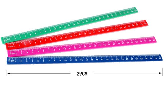 different colors different types magnetic ruler