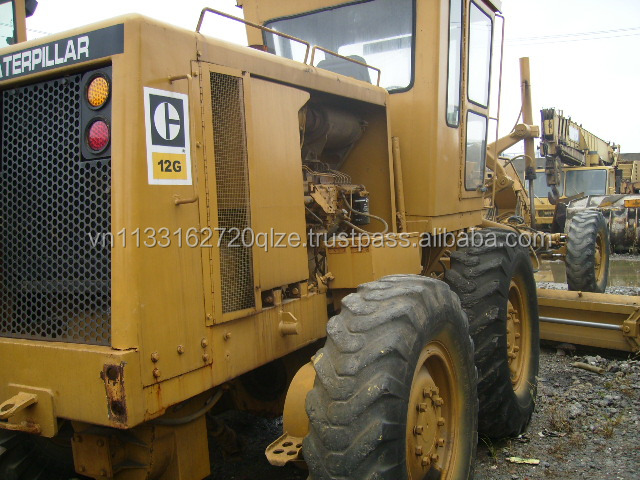 Used Caterpillar Grader Used CAT 12G Motor grader