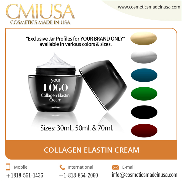 High Quality Nourishing Collagen Elastin Cream with Customization Facility in Bulk Quantity