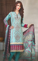 Pakistani stitched lawn suits / Pakistani printed lawn dresses