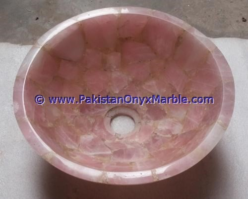 WHOLESALE 2017 HOT SALE POPULAR PINK ONYX SINKS BASINS COLLECTION