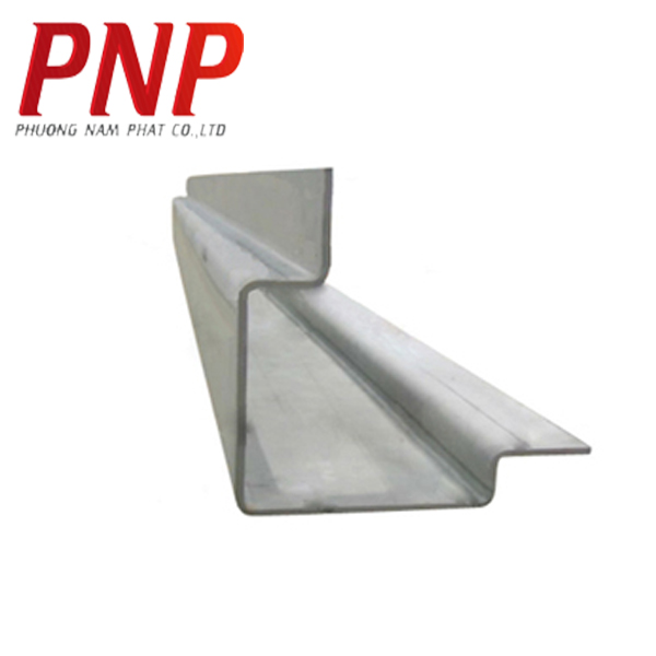 ISO Zinc grey Dry Container Front Corner Post / Container corner post
