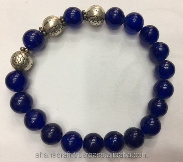 Men Nepal Beaded Wholesale Stone Bracelet