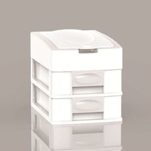 kid 3 drawers fashionable plastic cabinet for your child