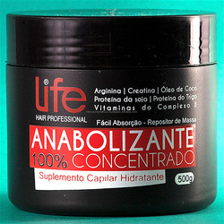 Anabolic Capillary Hair Hidratation Mask For Brazilian Keratin Treatment