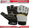 soft durable Synthetic leather and silicone super grip double protection on the palm Sailing Gloves
