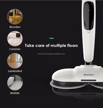 2017 latest Mamibot mopa380 cordless floor spin mop polisher electric mop and waxer wholesale
