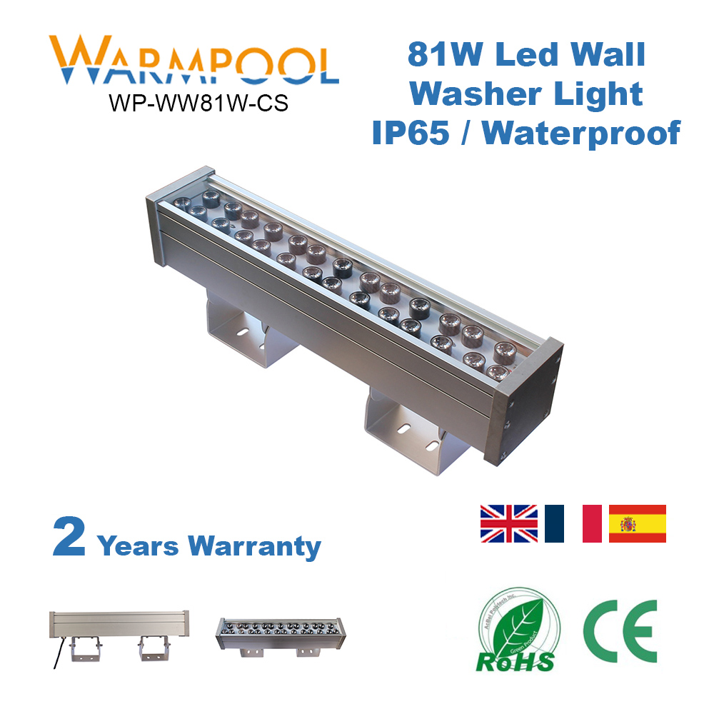 Product 81W Ip65 Dc36V Led Linear Wall Washer Lights