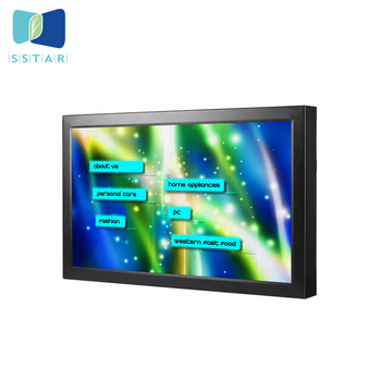 Flintstone 15 inch touch screen smart TV, widely used LCD screen, industrial digital signage lcd display video touch screen