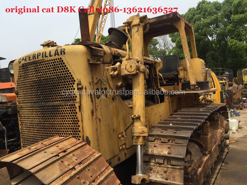 Used CAT original D8K bulldozer for sale 0086-13621636527 second hand cat D6/D7H Komatsu D85 blade dozer