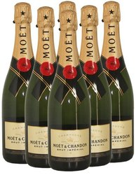 Eu standard quality 680 tons Moet & Chandon Imperial Champagne all brands available