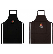 Custom design printed cotton kitchen apron for women