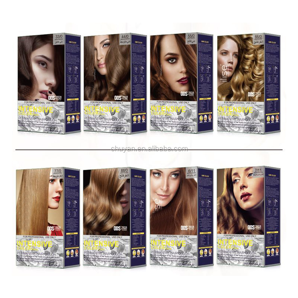 OEM brazilian organic hair dye Permanent hair color with herbal extracts