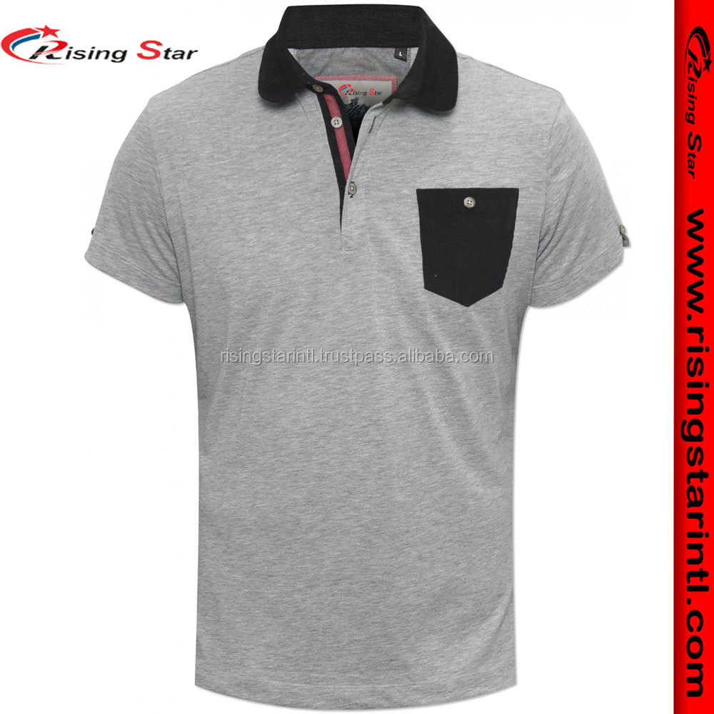 Wholesale Clothing Mens 100%Cotton 200gsm Polo Shirts With Customized Logo Embroidery & Printing