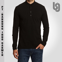 Wholesale Cheap Long Sleeve Plain Cotton Polo Shirt | Cheap